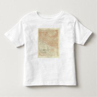 サンアンドレアスの切れ間を示すRedlandsの四角形 トドラーTシャツ