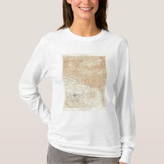 サンアンドレアスの切れ間を示すRedlandsの四角形 Tシャツ