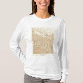 サンアンドレアスの切れ間を示すRock Creekの四角形 Tシャツ