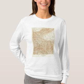 サンアンドレアスの切れ間を示すTejonの四角形 Tシャツ