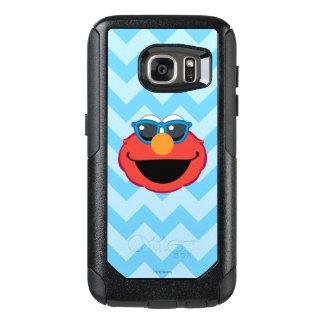 サングラスが付いているElmoの微笑の顔 オッターボックスSamsung Galaxy S7ケース