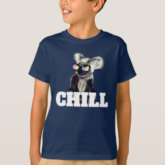 サングラスの極度のクールなコアラ Tシャツ