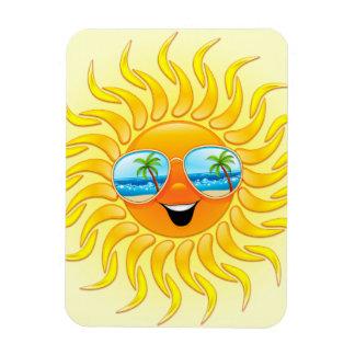 サングラスの磁石が付いている夏の日曜日の漫画 マグネット