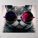 サングラス猫 ポスター