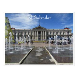 サンサルバドルの国民宮殿 ポストカード