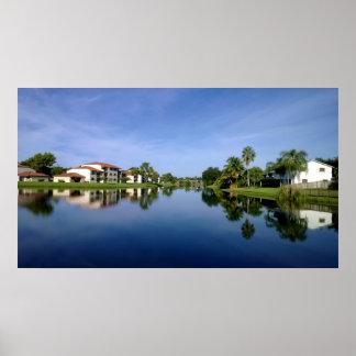 サンシャイステート、美しいフロリダ ポスター