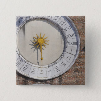 サンジャコモdi Rialtoサンのポロベニスの時計 5.1cm 正方形バッジ