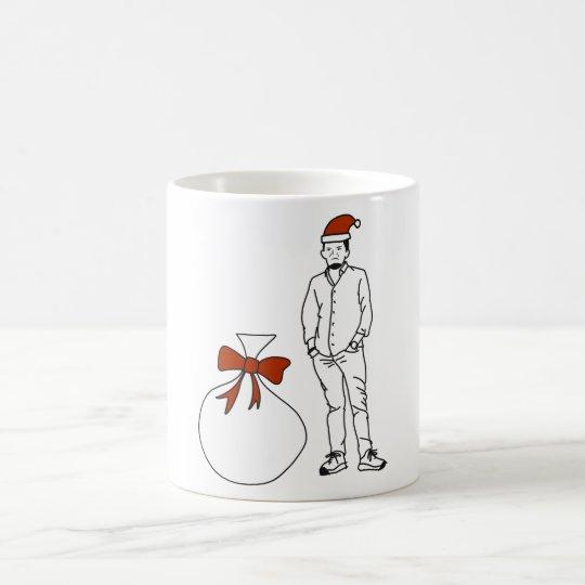 サンタじじい コーヒーマグカップ