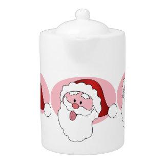 サンタのおもしろいなティーポット
