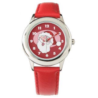サンタのおもしろいな腕時計 腕時計