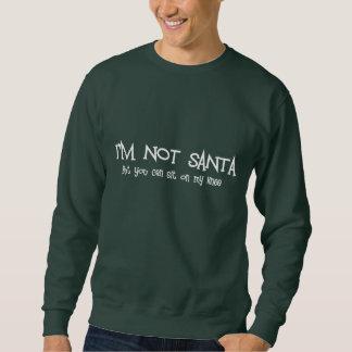 サンタのおもしろいなTシャツ スウェットシャツ