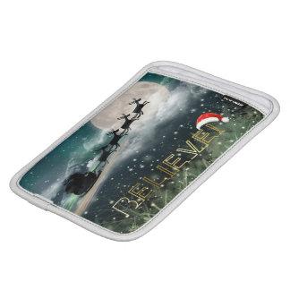 サンタのそりのトナカイのクリスマスのiPad Miniの袖 iPad Miniスリーブ