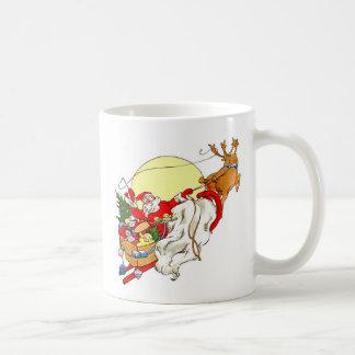 サンタのそり コーヒーマグカップ