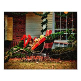 サンタのための写真のプリントの休止 フォトプリント