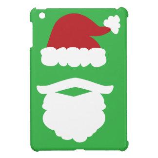 サンタのひげおよび帽子 iPad MINI CASE
