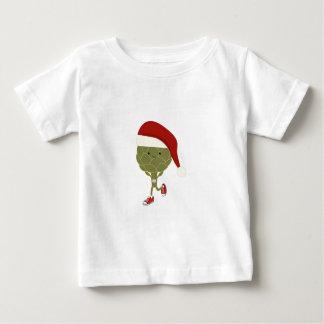 サンタのアーティチョークのランナー ベビーTシャツ