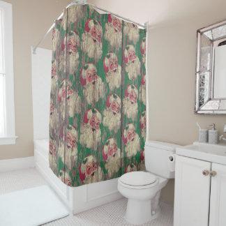 サンタのクリスマスの休日の浴室のシャワー・カーテン シャワーカーテン