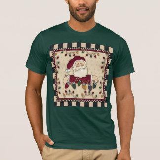 サンタのクリスマスのTシャツ Tシャツ