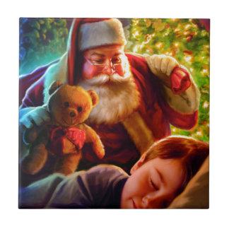 サンタのクリスマス タイル