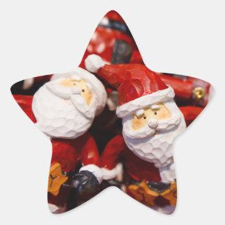 サンタのコレクターのためのサンタクロースのノベルティのギフト 星シール