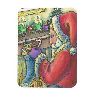 サンタのストッキングのスタッファーのクリスマスの磁石 マグネット