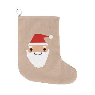 サンタのストッキング ラージクリスマスストッキング