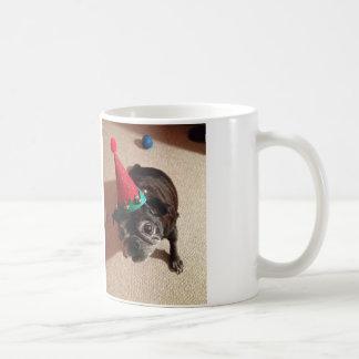 サンタのスパイク コーヒーマグカップ