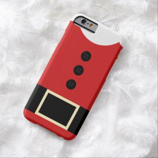サンタのスーツのクリスマスのiPhone Barely There iPhone 6 ケース