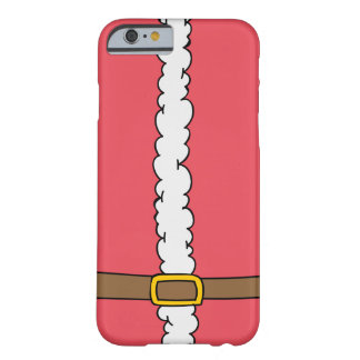 サンタのスーツのiPhone6ケース Barely There iPhone 6 ケース
