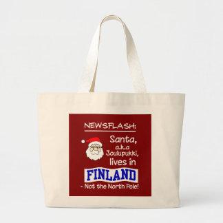 サンタのバッグ ラージトートバッグ