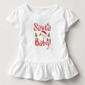 サンタのベビー トドラーTシャツ