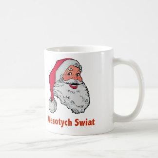 サンタのポーランドのマグ コーヒーマグカップ