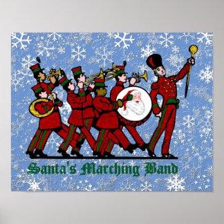 サンタのマーチングバンド ポスター