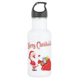 サンタのメリークリスマス ウォーターボトル