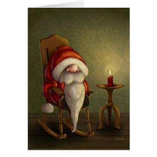 サンタのリラックス カード