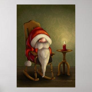 サンタのリラックス ポスター
