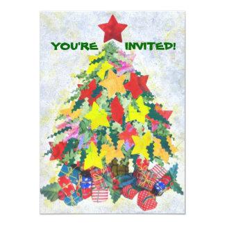 サンタの仕事はできていた招待です カード