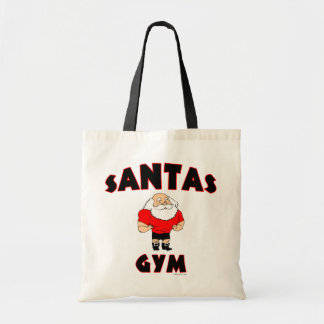 サンタの体育館のバッグ トートバッグ