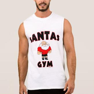 サンタの体育館 袖なしシャツ