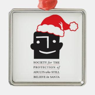 サンタの信者を保護して下さい! SPASBSのクリスマスのオーナメント メタルオーナメント