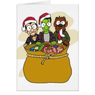 サンタの助手 カード