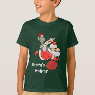 サンタの助手 Tシャツ