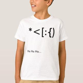 サンタの句読点 Tシャツ