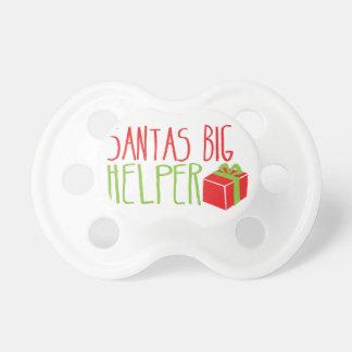 サンタの大きい助手 おしゃぶり