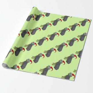 サンタの子犬の包装紙! 包み紙
