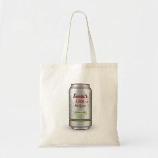 サンタの小さい助手の缶ビール トートバッグ