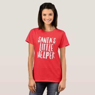 サンタの小さい助手 Tシャツ