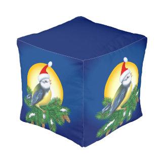 サンタの帽子の鳥 プーフ