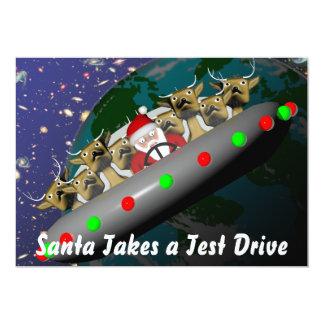 サンタの招待 カード