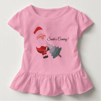 サンタの来ること トドラーTシャツ